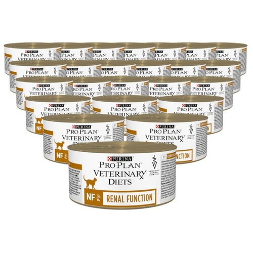 Фото - Корм для кошек Pro Plan Veterinary Diets Feline NF Renal Function canned (0.195 кг) 24 шт. корм для кошек pro plan veterinary diets feline en gastrointestinal canned 0 195 кг 24 шт