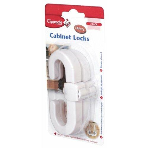 Защитный замок для створчатой двери CL72/1 Clippasafe белый