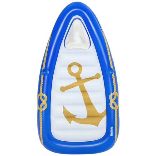 Лодка Bestway 43403 107x190 см синий/белый