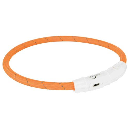 Ошейник TRIXIE USB Flash Light XS-S 12690-12706 35 см оранжевый