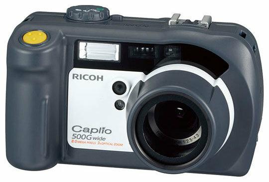 Фотоаппарат Ricoh Caplio 500G wide