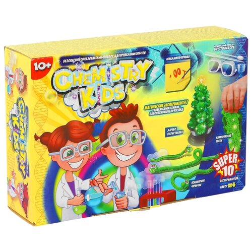 Купить Набор Danko Toys Chemistry Kids Магические эксперименты Набор 4, Наборы для исследований