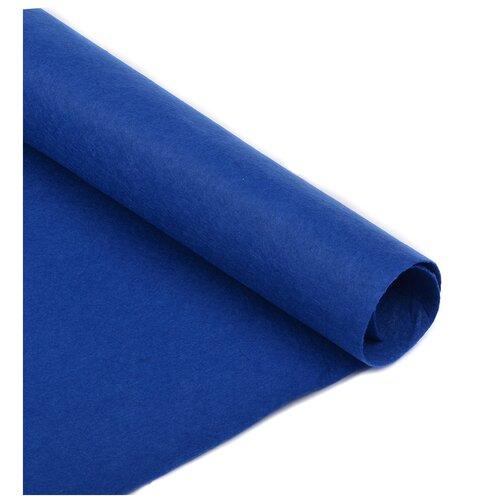 Фетр в рулоне полужесткий IDEAL 1мм 100см FLT-HS2 уп.5м цв.126 синий