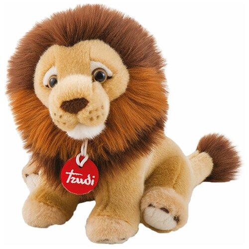 Фото - Мягкая игрушка Trudi Лев Нарцис сидящий 27 см мягкие игрушки trudi лев нарцис 27 см