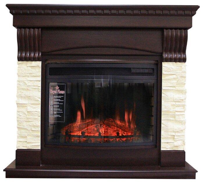 Электрический камин Royal Flame Dioramic 25 темный дуб + Denver
