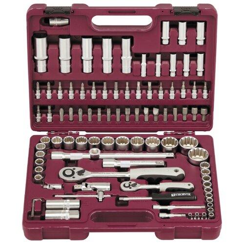 Набор автомобильных инструментов Thorvik (94 предм.) UTS0094MP набор инструментов thorvik 77 предм uts0077 серебристый