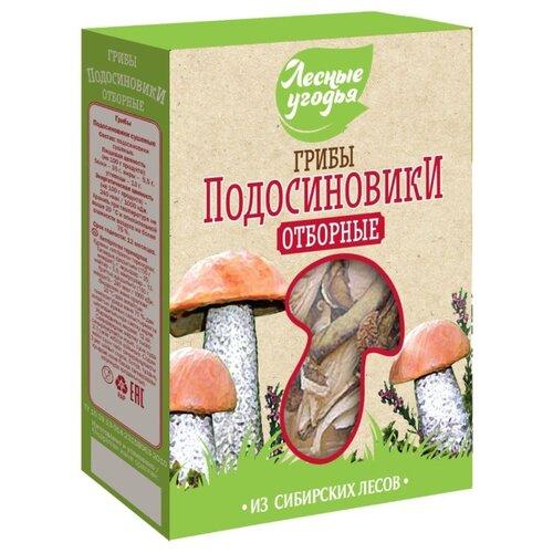 Лесные Угодья Подосиновики резаные сушеные, коробка картонная (Россия) 50 г