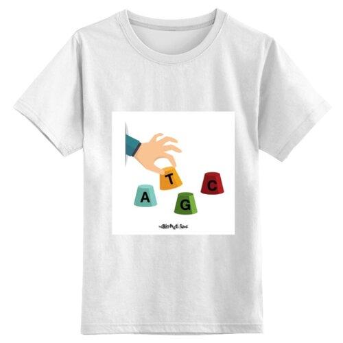 Футболка Printio размер S, белый, Футболки и майки  - купить со скидкой