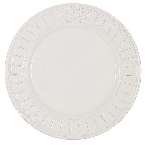 Тарелка обеденная Venice, 27.5 см, белая, Matceramica