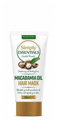 Mellor & Russell Simply Essentials Маска для волос Macadamia Oil