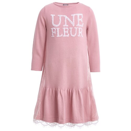 Платье Gulliver размер 140, розовый