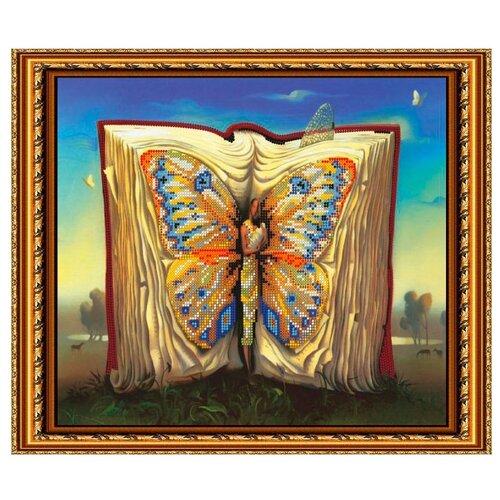 Светлица Набор для вышивания бисером Волшебная книга 36 х 30,3 см, бисер Чехия (005)