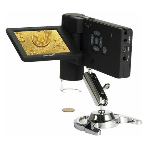 Микроскоп цифровой LEVENHUK DTX 500 Mobi, 20-500 кратный, 3