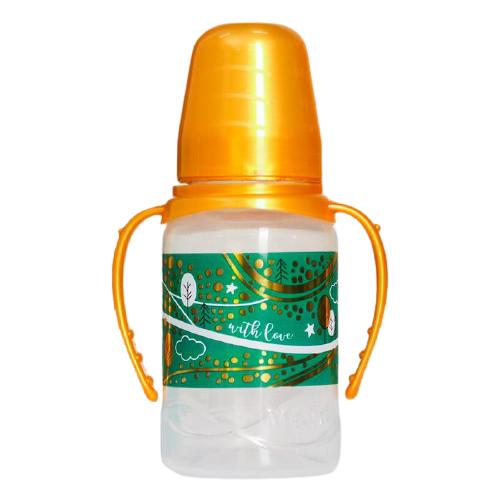 кухонная машина bosch mum 54g00 mum 54y00 mum 54d00 mum 54i00 mum 54p00 зеленый Mum&Baby Бутылочка с ручками Волшебная сказка 150 мл, с рождения, желтый/зеленый