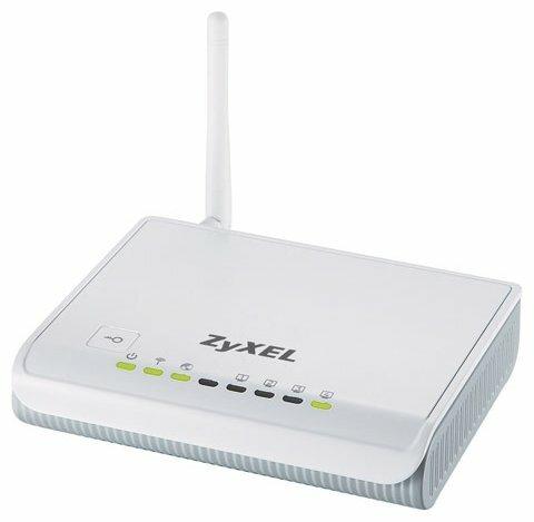 Wi-Fi роутер ZYXEL NBG417N