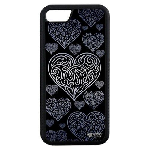 Чехол для Айфона 7 французский дизайн Сердце Романтика Символ