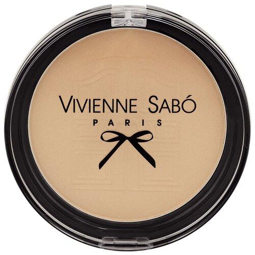 Vivienne Sabo компактная пудра Joli Secret Merci матирующая 02 светлый золотистый