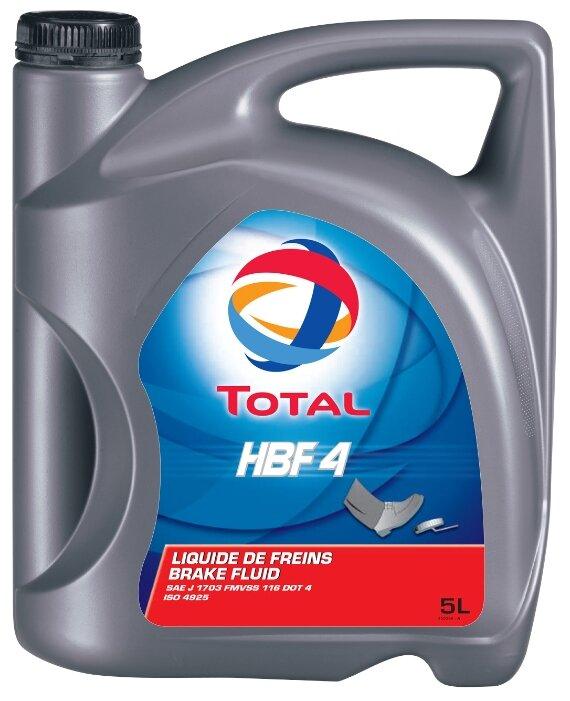 Тормозная жидкость TOTAL DOT 4 HBF 4 5 л