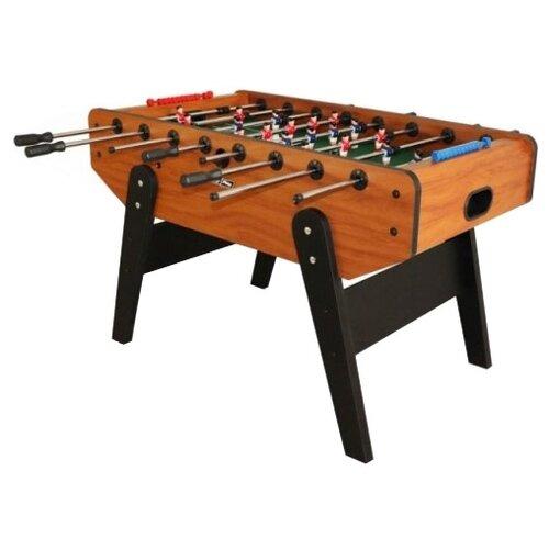Игровой стол для футбола Start Line Champion SLP-3071 черный/коричневый