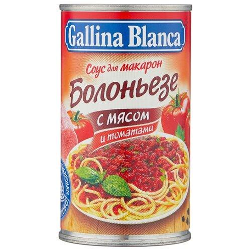 Соус Gallina Blanca Болоньезе с мясом и томатами, 180 г