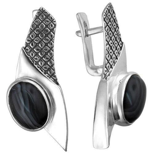 Эстет Серебряные серьги с аметрин К3С453480Ч