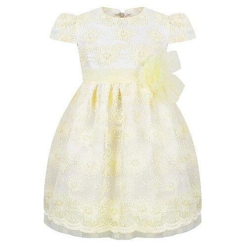 Платье Aletta размер 86, желтый