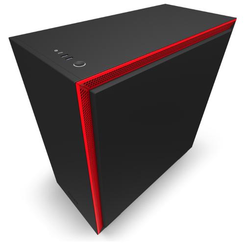 Компьютерный корпус NZXT H710i Black/red