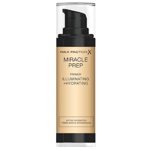 Max Factor праймер для лица Miracle Prep Illuminating & Hydrating Primer 001 max factor miracle prep pore minimising mattifying primer