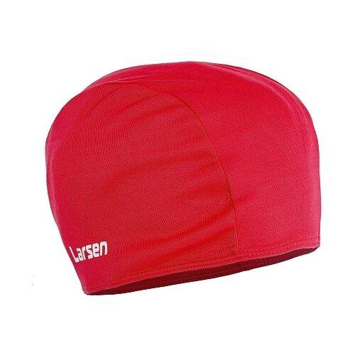 Шапочка для плавания Larsen 3220D красный