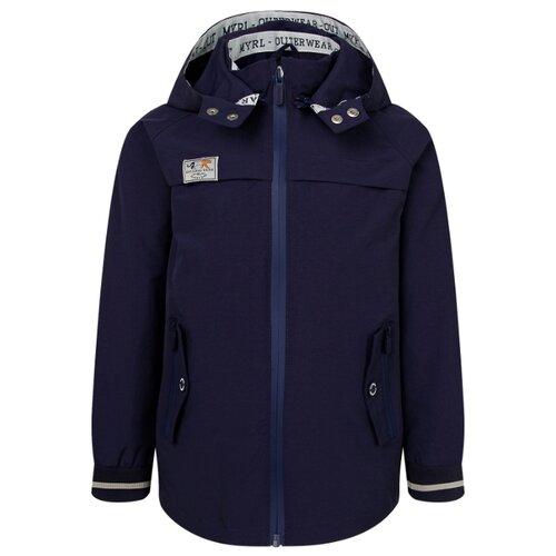 Купить Ветровка Mayoral 03456 (037 / 038) размер 128, 038 синий, Куртки и пуховики