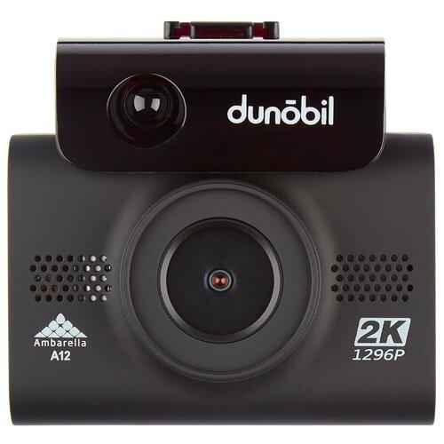 Видеорегистратор с радар-детектором Dunobil Marvic Signature Touch, GPS черный