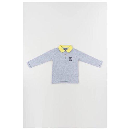Купить Поло Brums размер 24М (92), серый, Футболки и рубашки