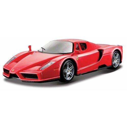 Купить Легковой автомобиль Bburago Ferrari Enzo (18-26006) 1:24 красный, Машинки и техника