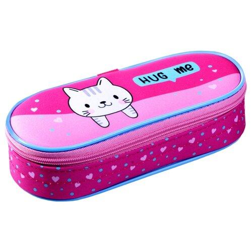 Купить Berlingo Пенал-футляр Sweet Kitty (PM04641) розовый, Пеналы