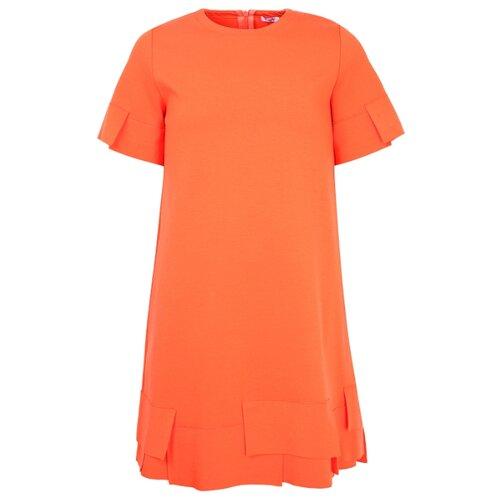 Платье Il Gufo размер 92, оранжевый