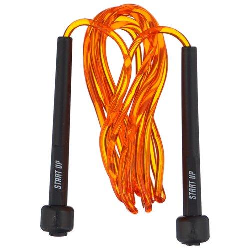 Скакалка START UP NT18028 оранжевый 275 см скакалка start up nt18035 до 2 75m 356179