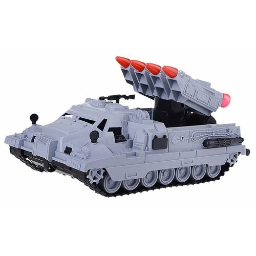 Купить Ракетная установка Нордпласт Морпех (243) 30 см серый, Машинки и техника
