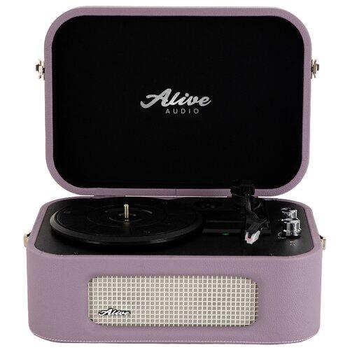 Виниловый проигрыватель Alive Audio Stories lilac cd проигрыватель audio research