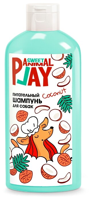Шампунь для собак и кошек Animal Play Sweet Взрывной кокос Питательный 300 мл (0.325 кг)