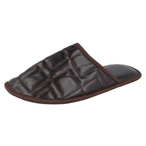 Тапочки Bari Top M450 De Fonseca коричневый 41/42 (De Fonseca)Домашняя обувь<br>