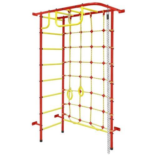 Спортивно-игровой комплекс Пионер 8, красный/желтый