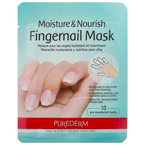 Маска Purederm Moisture & Nourishing Fingernail Mask 20 г macadamia nourishing moisture masque