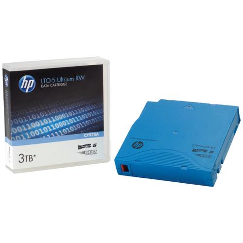 Фото - Магнитная лента незаписанная HPE HP LTO5 Ultrium 3TB RW Data Tape 480гб серверный ssd hpe mixed use 872344 b21