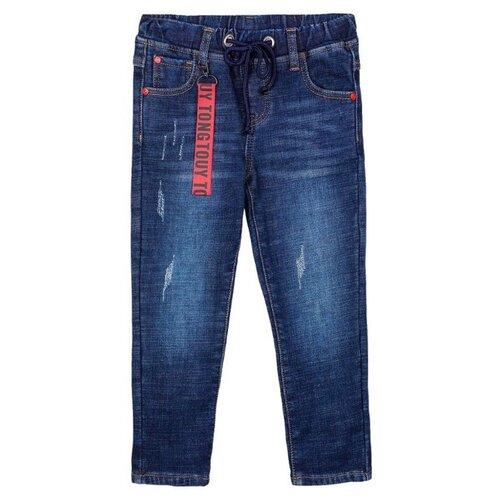 Джинсы playToday размер 98, синий джинсы playtoday playtoday mp002xb00a99