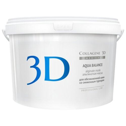 Medical Collagene 3D альгинатная маска для лица и тела Aqua Balance, 1200 г