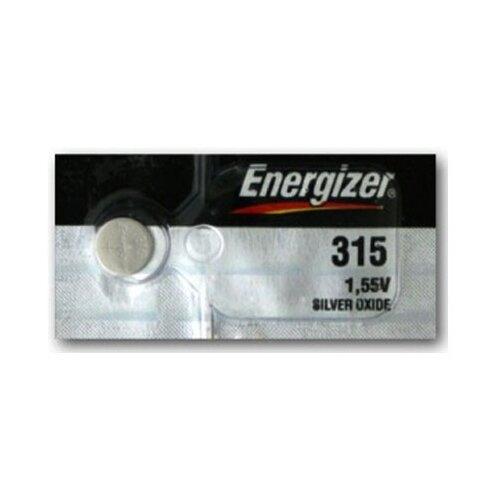Фото - Батарейка Energizer Silver Oxide 315 (1 штука) батарейка energizer max plus aa 4 шт
