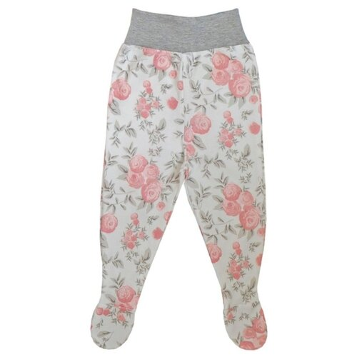 Ползунки SafariKids размер 74, белый/розовый брюки safarikids best kid размер 92 розовый