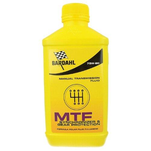 Масло автомобильное трансмисс. для механических КПП MTF 75W80 1л 428040, шт