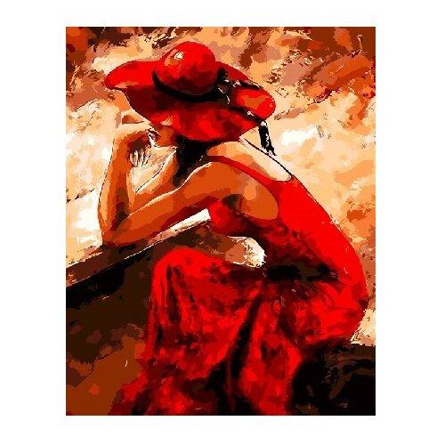 Купить ВанГогВоМне Картина по номерам Страстная девушка , 40х50 см (ZX 21933), Картины по номерам и контурам