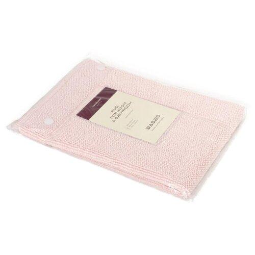 Коврик Luxberry LUX, 55 х 75см светло-розовый